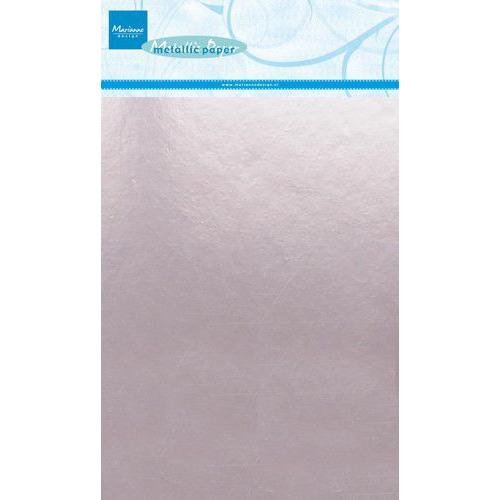 Marianne D Decoratie Metallic papier 5vl - Lichtroze CA3139 A5 (09-19)