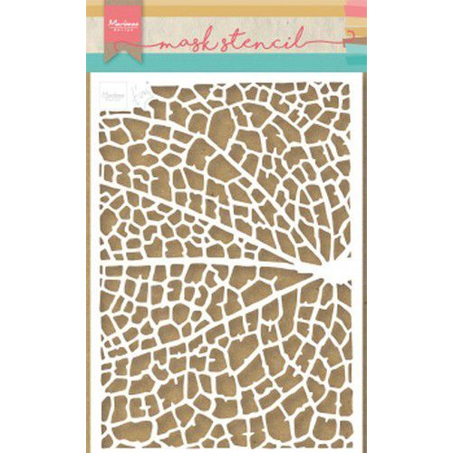 Marianne D Stencil Tiny's Leaf Grain PS8041 149x210 mm (09-19)