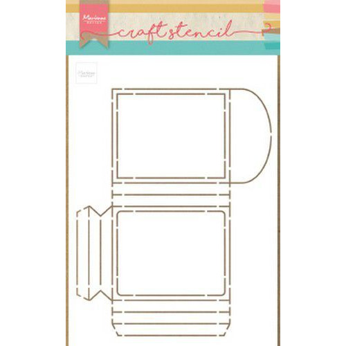 Marianne D Stencil Party Pocket PS8043 149x210 mm (09-19)