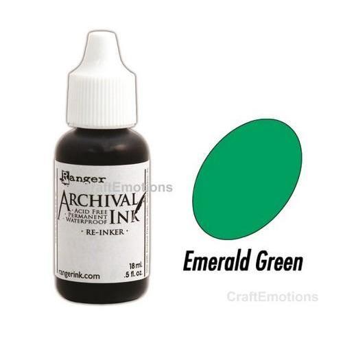 Ranger Archival Reinkers - emerald green ARR30485