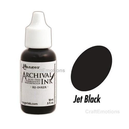 Ranger Archival Reinkers - jet black ARR30799