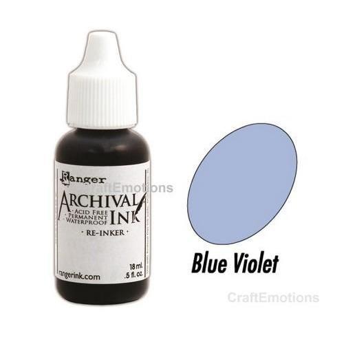 Ranger Archival Reinkers - blue violet ARR30874