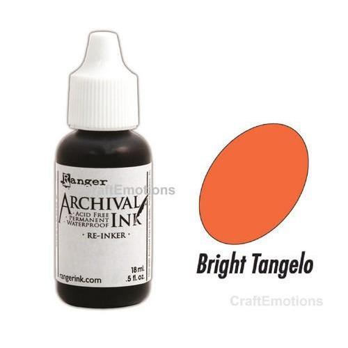 Ranger Archival Reinkers - bright tangelo ARR52630