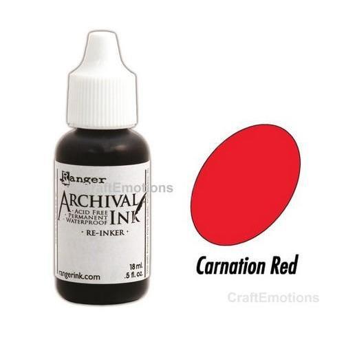Ranger Archival Reinkers - carnation red ARD41450 Wendy Vecchi