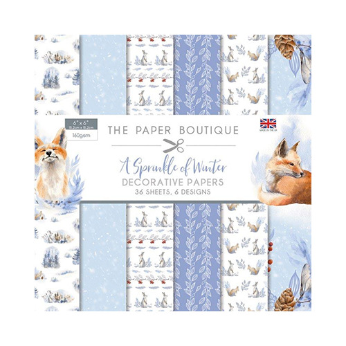 A Sprinkle of Winter Paper Pad