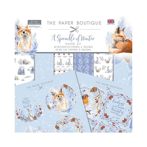 A Sprinkle of Winter Paper Kit