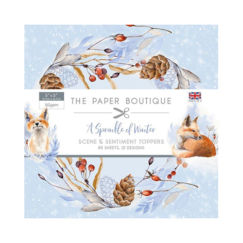 A Sprinkle of Winter Sentiments Pad