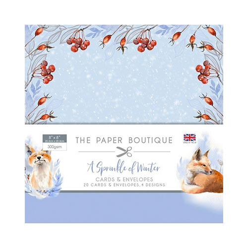 A Sprinkle of Winter Card & Envelope Pack