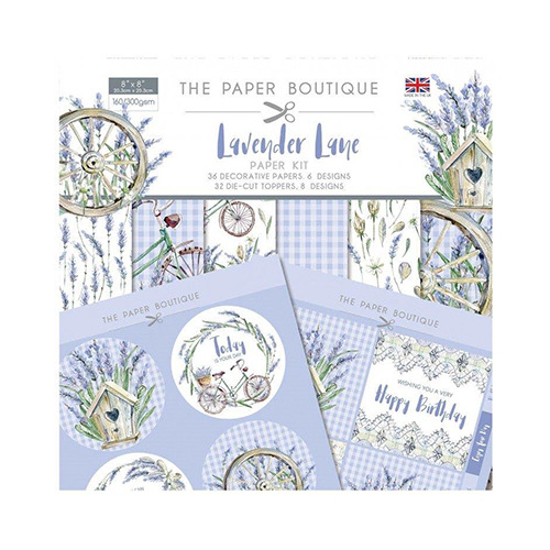 Lavender Lane Paper Kit