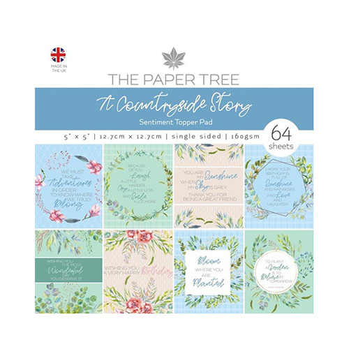 A Countryside Story Sentiments Pad