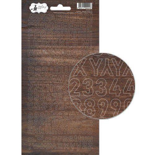 Piatek13 - Alphabet sticker sheet Soulmate 01 P13-MAT-17 10,5x23 cm (07-19)