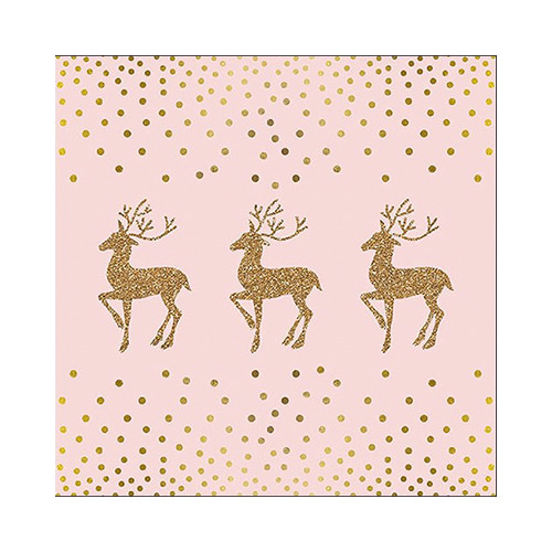 Deer and Dots Rose/Gold