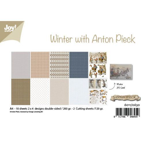 #1 Joy! papierset Winter with Anton Pieck
