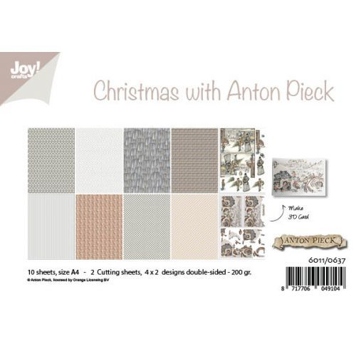 #1 Joy! papierset Christmas with Anton Pieck