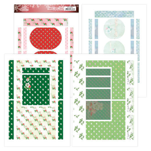 Printed Figurg Cards - Jeanine's Art - Lovely Christmas