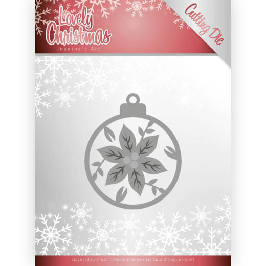 Dies - Jeanine's Art - Lovely Christmas - Lovely Christmas Ball (Hobbyzine)