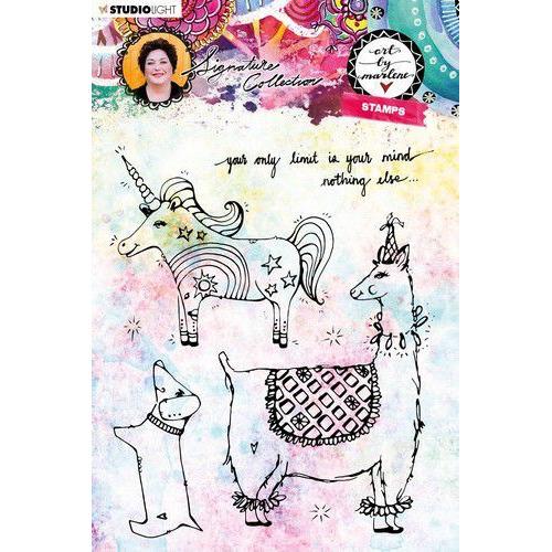 Studio light Clear Stamp Art By Marlene 4.0 nr 39 STAMPBM39 (09-19)
