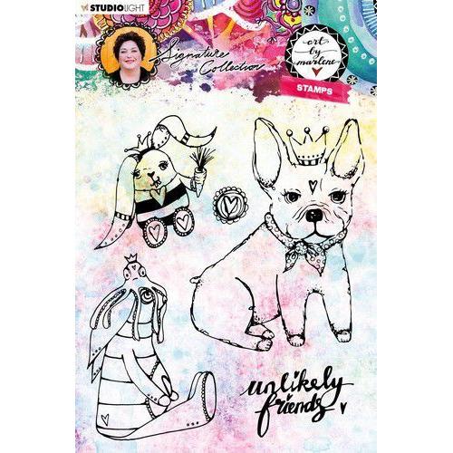 Studio light Clear Stamp Art By Marlene 4.0 nr 40 STAMPBM40 (09-19)