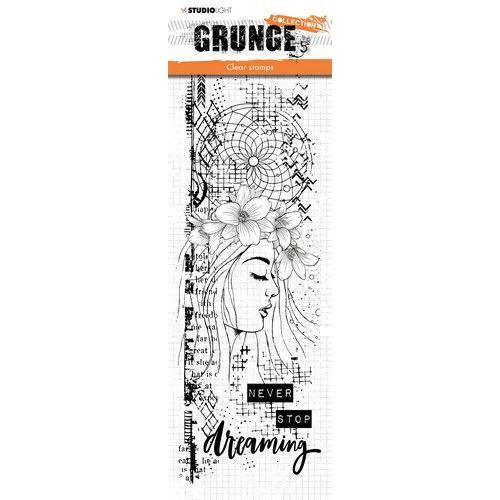Studio light Clear Stamp Grunge Collection 3.0 nr 402 STAMPSL402 297x105 mm (09-19)