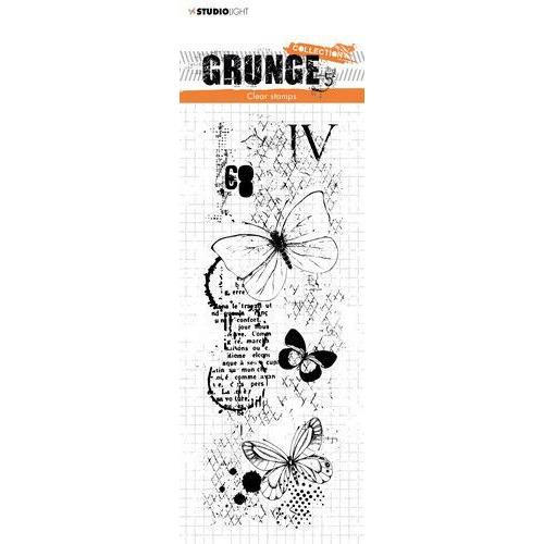 Studio light Clear Stamp Grunge Collection 3.0 nr 406 STAMPSL406 210x74 mm (09-19)