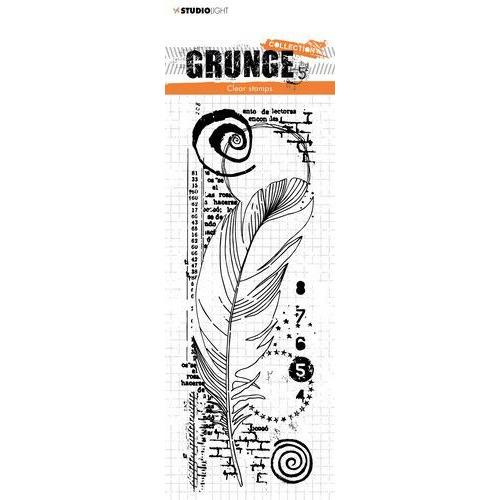 Studio light Clear Stamp Grunge Collection 3.0 nr 407 STAMPSL407 210x74 mm (09-19)