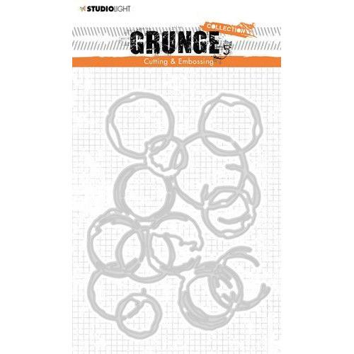 Studio light Cut. and Emb. Die A6 Grunge Collection 3.0 224 STENCILSL224 (09-19)