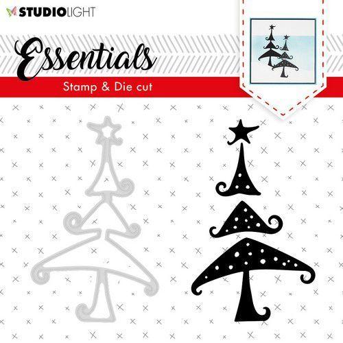 Studio Light Stamp & Die Cut A6 Essentials Silhouettes nr 36 BASICSDC36 (09-19)