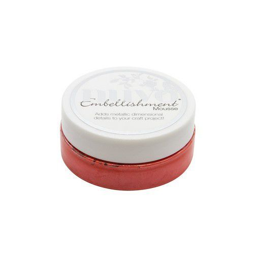 Nuvo Embellishment mousse - fusion red 836N (08-19)