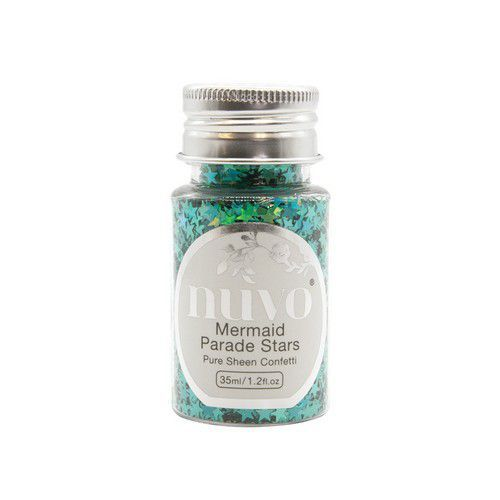 Nuvo Pure sheen confetti - mermaid parade stars 35ml bottle 1072N (08-19)