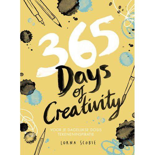 Kosmos Boek - 365 days of creativity Lorna Scobie (09-19)