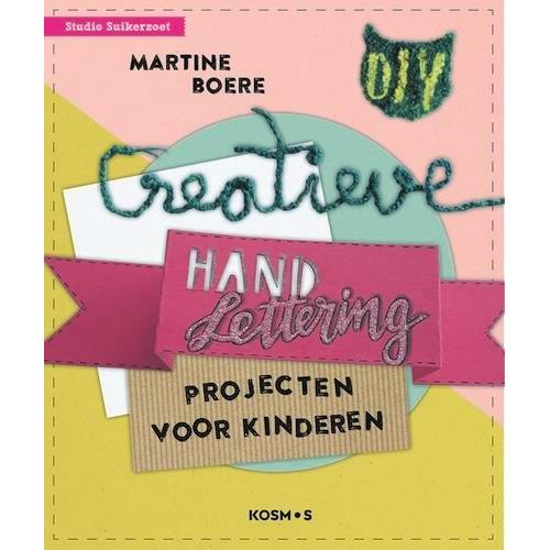 Kosmos Boek - Creatieve Handletteringprojecten voor kinderen Martine Boere (01-20)