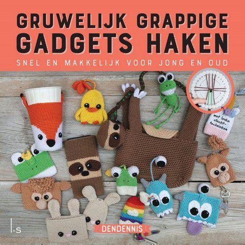Luitingh Sijthof boek - Gruwelijke grappige gadgets haken Dendennis (06-19)