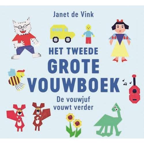 Kosmos Boek - Het tweede grote vouwboek Janet de Vink (11-19)