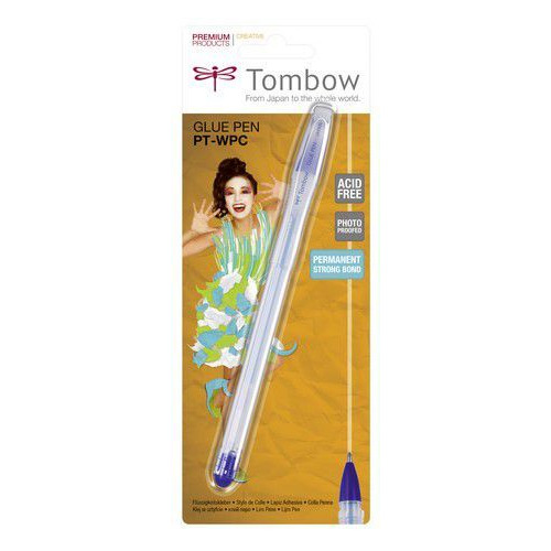 Tombow Liquid glue pen 0,9 ml-blister 19-PT-WPC