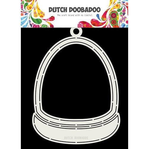 Dutch Doobadoo Card art Sneeuwbol A5 470.713.733 (09-19)