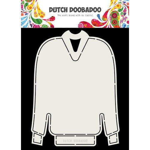 Dutch Doobadoo Card Art Kerst trui A5 470.713.736 (09-19)