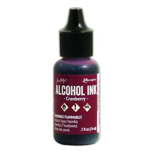 Ranger Alcohol Ink 15 ml - cranberry TIM21995 Tim Holz