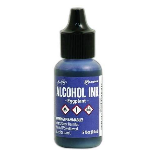 Ranger Alcohol Ink 15 ml - eggplant TIM22022 Tim Holz