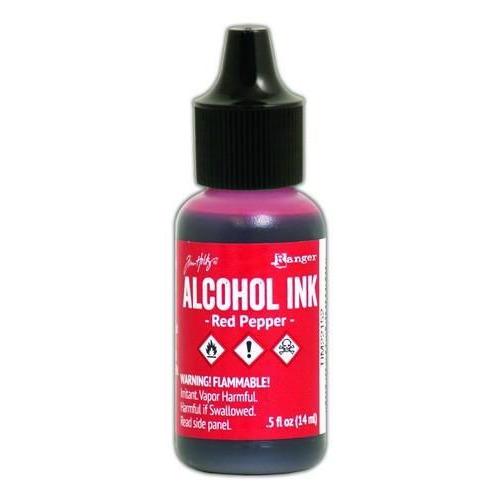 Ranger Alcohol Ink 15 ml - red pepper TIM22152 Tim Holz
