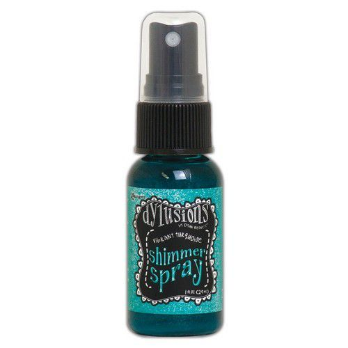 Ranger Dylusions Shimmer Spray 29 ml - Vibrant Turquoise DYH68433