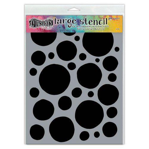 Ranger Dylusions Stencils Boulders - Large DYS68686