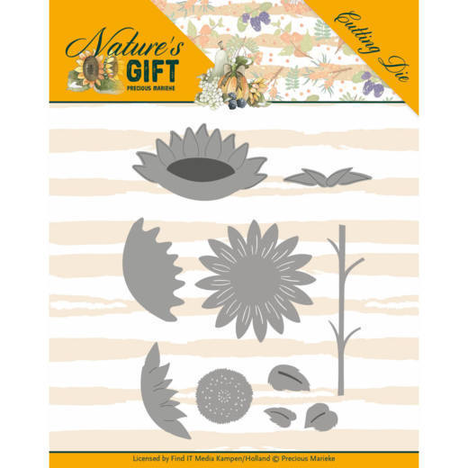 Dies - Precious Marieke - Nature's Gift - Sunflowers