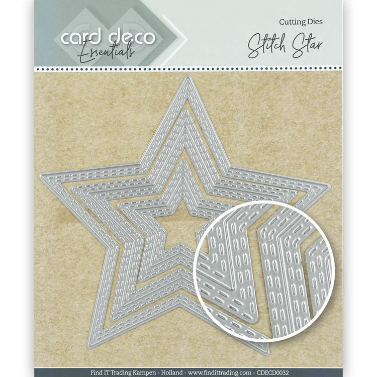 Card Deco Essentials Cutting Dies Stitch Star