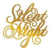 Silent Night Sentiment Hotfoil Stamp (1pc)