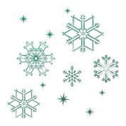Snowflakes Mini Stamp (1pc)