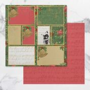 Naughty or Nice Double Sided Patterned Papers 12 (5pc)