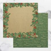 Naughty or Nice Double Sided Patterned Papers 10 (5pc)