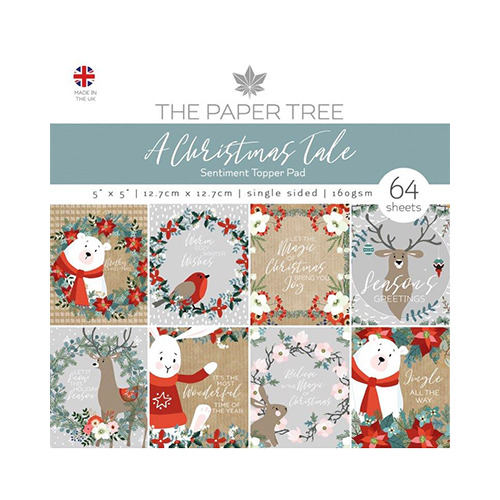 A Christmas Tale Sentiments Pad