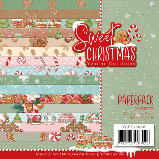 Paperpack - Yvonne Creations - Sweet Christmas