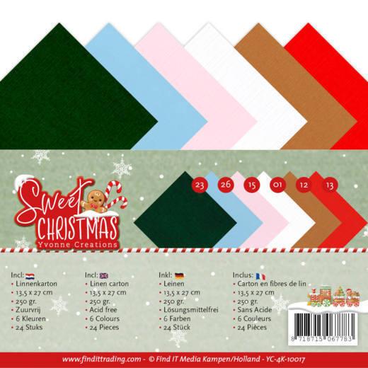 Linnenpakket - 4K - Yvonne Creations - Sweet Christmas